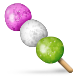 Dango Emoji (Apple/iOS Version)