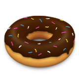 Doughnut Emoji (Apple/iOS Version)