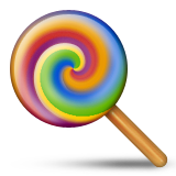 Lollipop Emoji (Apple/iOS Version)