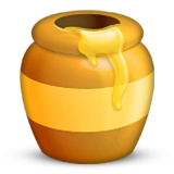 Honey Pot Emoji (Apple/iOS Version)
