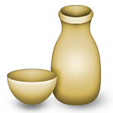 Sake Bottle And Cup Emoji (Apple/iOS Version)