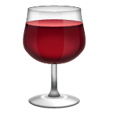 Wine Glass Emoji (Apple/iOS Version)