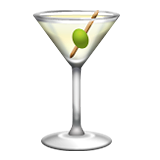 Cocktail Glass Emoji (Apple/iOS Version)