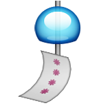 Wind Chime Emoji (Apple/iOS Version)