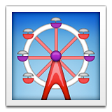 Ferris Wheel Emoji (Apple/iOS Version)