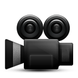 Movie Camera Emoji (Apple/iOS Version)