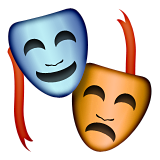 Performing Arts Emoji (Apple/iOS Version)