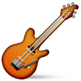 Guitar Emoji (Apple/iOS Version)
