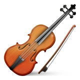 Violin Emoji (Apple/iOS Version)