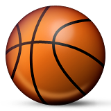 Basketball And Hoop Emoji (Apple/iOS Version)