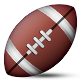 American Football Emoji (Apple/iOS Version)