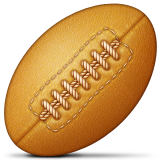 Rugby Football Emoji (Apple/iOS Version)