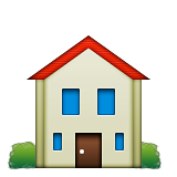House Building Emoji (Apple/iOS Version)