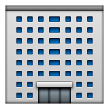 Office Building Emoji (Apple/iOS Version)