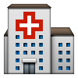 Hospital Emoji (Apple/iOS Version)