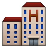 Hotel Emoji (Apple/iOS Version)
