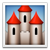 European Castle Emoji (Apple/iOS Version)