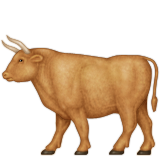 Ox Emoji (Apple/iOS Version)