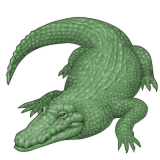 Crocodile Emoji (Apple/iOS Version)