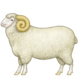 Ram Emoji (Apple/iOS Version)