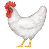 Rooster Emoji (Apple/iOS Version)