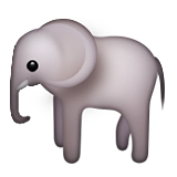 Elephant Emoji (Apple/iOS Version)