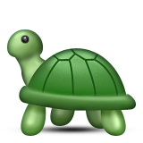 Turtle Emoji (Apple/iOS Version)