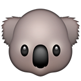 Koala Emoji (Apple/iOS Version)