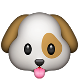 Dog Face Emoji (Apple/iOS Version)