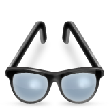 Eyeglasses Emoji (Apple/iOS Version)