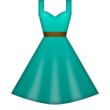Dress Emoji (Apple/iOS Version)