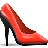 High-heeled Shoe Emoji (Apple/iOS Version)