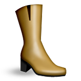 Womans Boots Emoji (Apple/iOS Version)