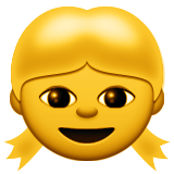 Girl Emoji (Apple/iOS Version)