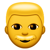 Man Emoji (Apple/iOS Version)