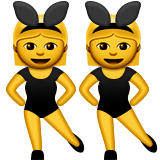 Woman With Bunny Ears Emoji (Apple/iOS Version)