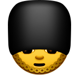Guardsman Emoji (Apple/iOS Version)