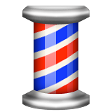 Barber Pole Emoji (Apple/iOS Version)