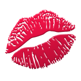 Image result for kissy lips emoji