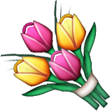 Bouquet Emoji (Apple/iOS Version)