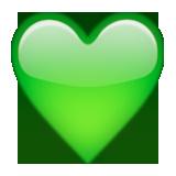 💚 Green Heart Emoji - Copy & Paste - EmojiBase!
