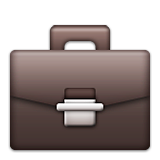 Briefcase Emoji (Apple/iOS Version)