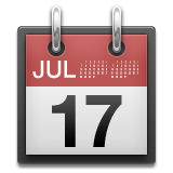 Tear-off Calendar Emoji (Apple/iOS Version)