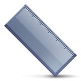 Straight Ruler Emoji (Apple/iOS Version)