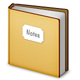 Notebook With Decorative Cover Emoji (Apple/iOS Version)