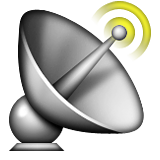 Satellite Antenna Emoji (Apple/iOS Version)