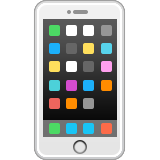 Mobile Phone Emoji (Apple/iOS Version)