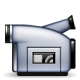 Video Camera Emoji (Apple/iOS Version)