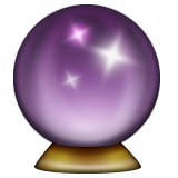 Crystal Ball Emoji (Apple/iOS Version)
