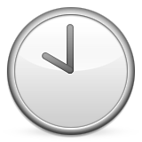 Clock Face Ten Oclock Emoji (Apple/iOS Version)